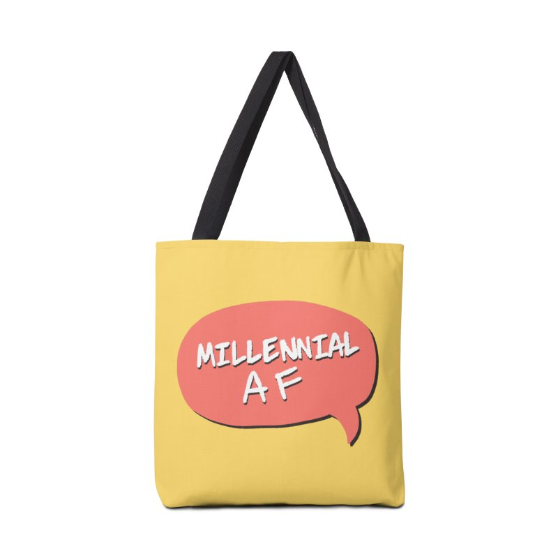 Millennial AF Accessories Bag by Hello Siyi