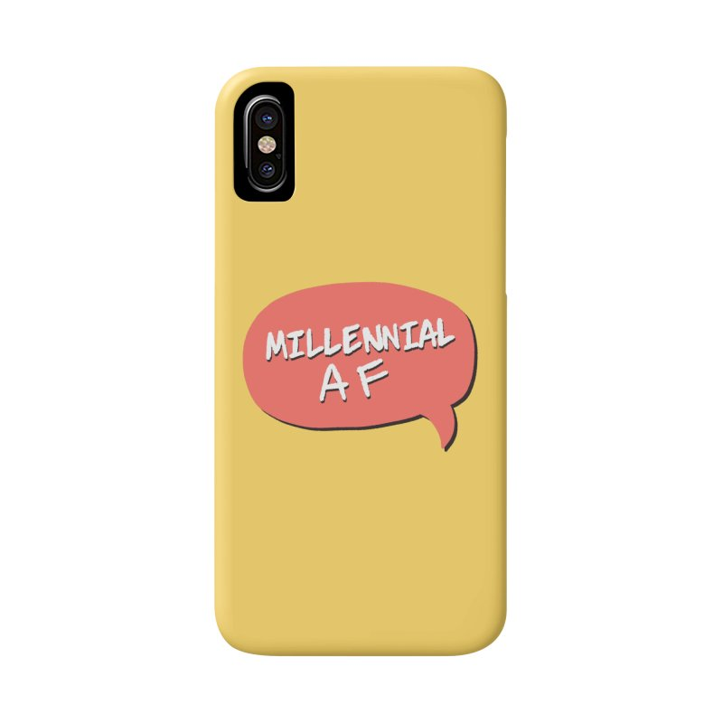 Millennial AF Accessories Phone Case by Hello Siyi