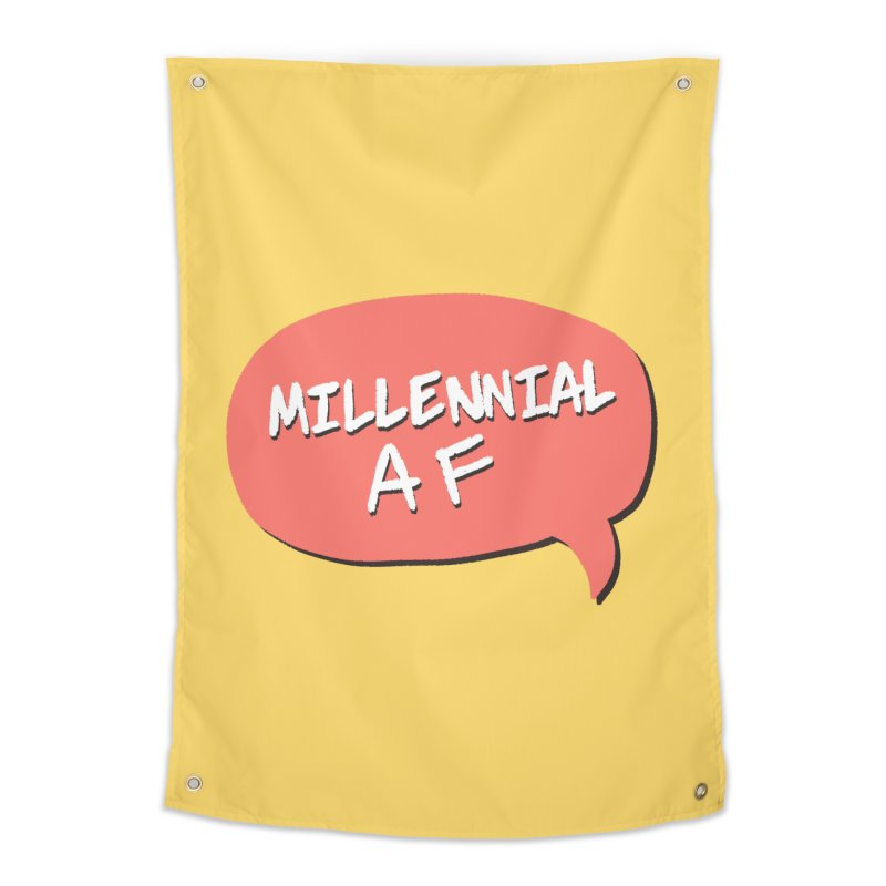 Millennial AF Home Tapestry by Hello Siyi
