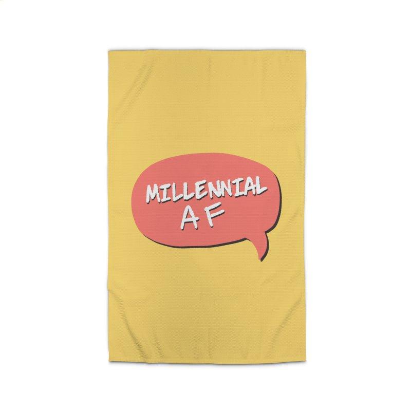 Millennial AF Home Rug by Hello Siyi