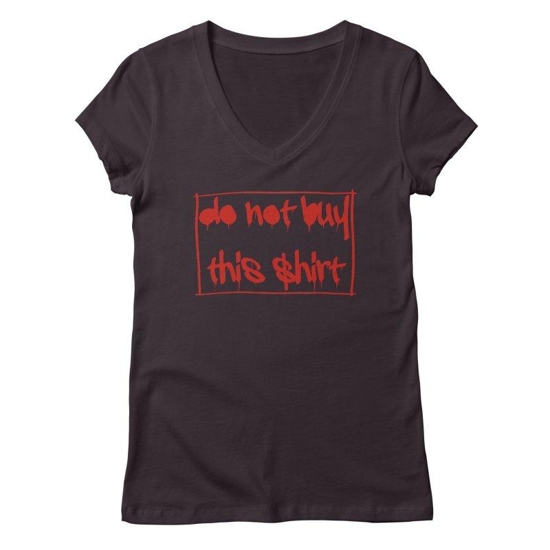 Do not buy this shirt Women's Regular V-Neck by Hello Siyi