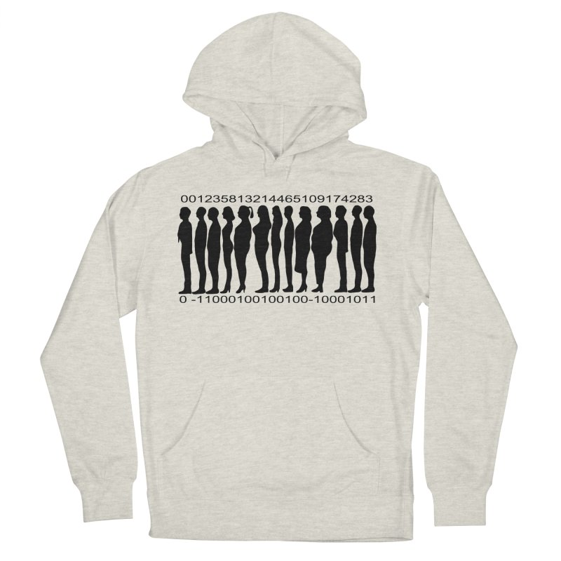 Human Barcode Men's Pullover Hoody by Hello Siyi