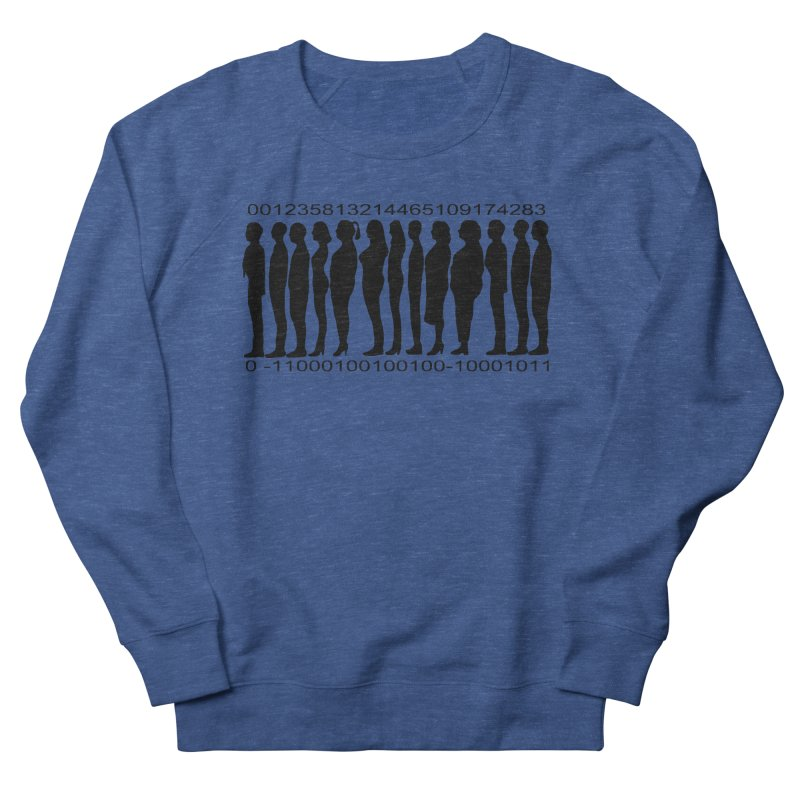 Human Barcode Men's Sweatshirt by Hello Siyi