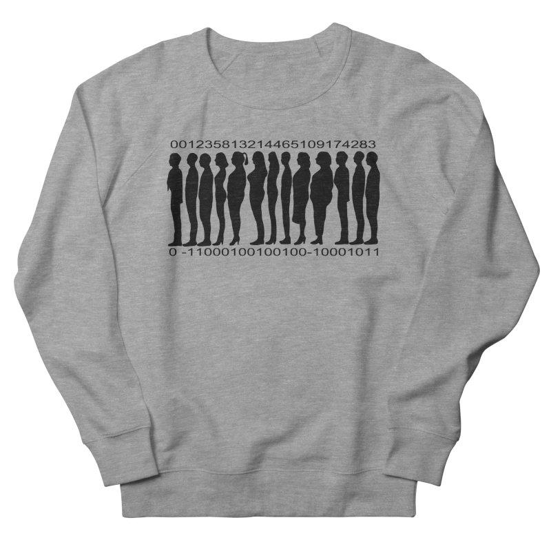 Human Barcode Women's French Terry Sweatshirt by Hello Siyi