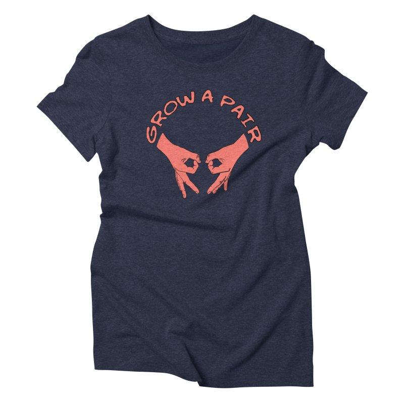 Grow A Pair Women's Triblend T-Shirt by Hello Siyi