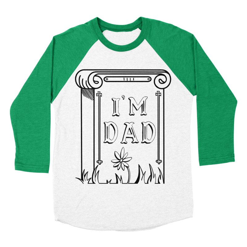 I'm dad Women's Baseball Triblend Longsleeve T-Shirt by Hello Siyi
