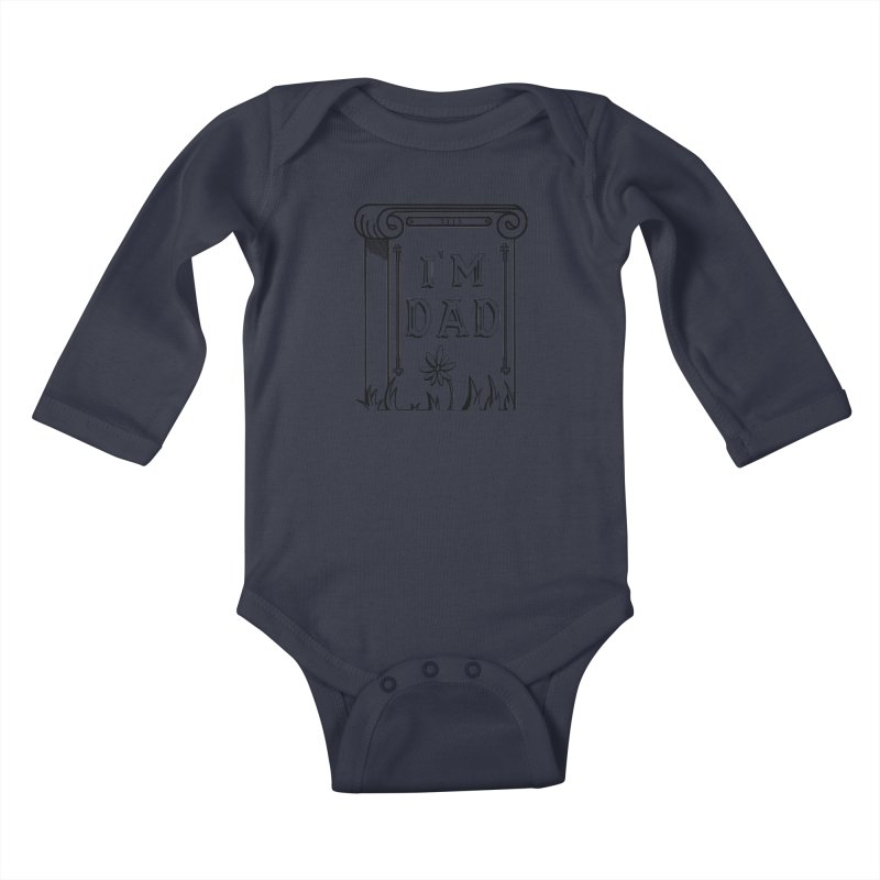 I'm dad Kids Baby Longsleeve Bodysuit by Hello Siyi