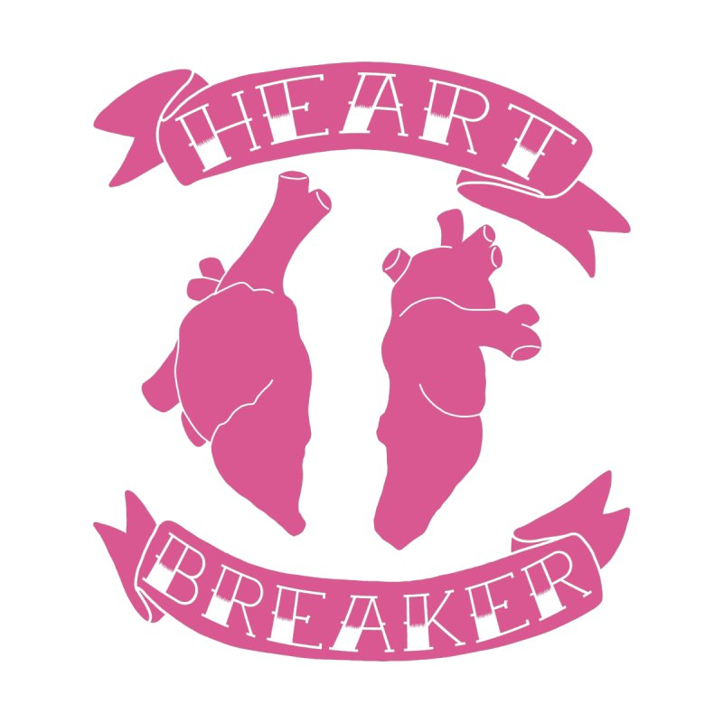 Heart Breaker Home Stretched Canvas by Hello Siyi