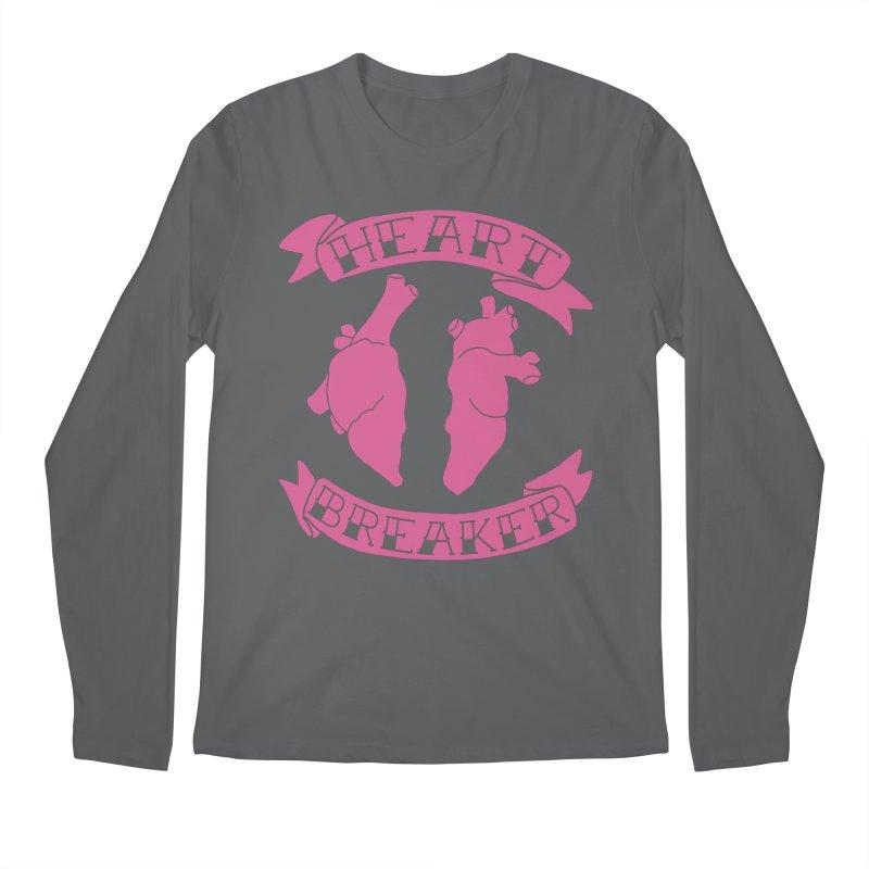Heart Breaker Men's Longsleeve T-Shirt by Hello Siyi