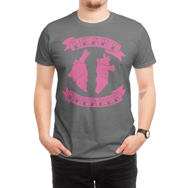 Heart Breaker Men's T-Shirt by Hey Siyi