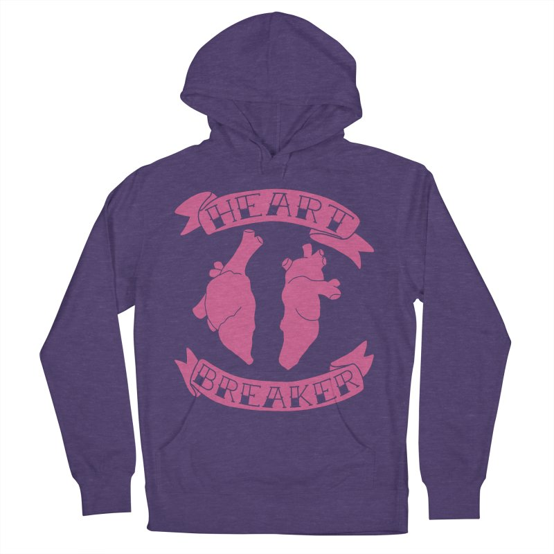 Heart Breaker Women's French Terry Pullover Hoody by Hello Siyi