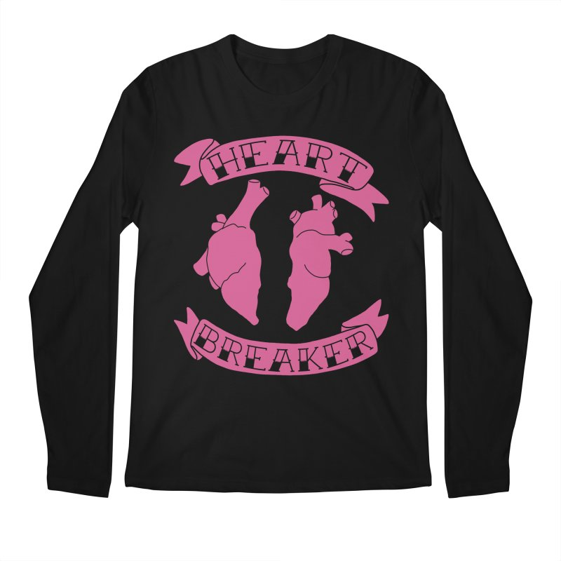 Heart Breaker Men's Regular Longsleeve T-Shirt by Hello Siyi