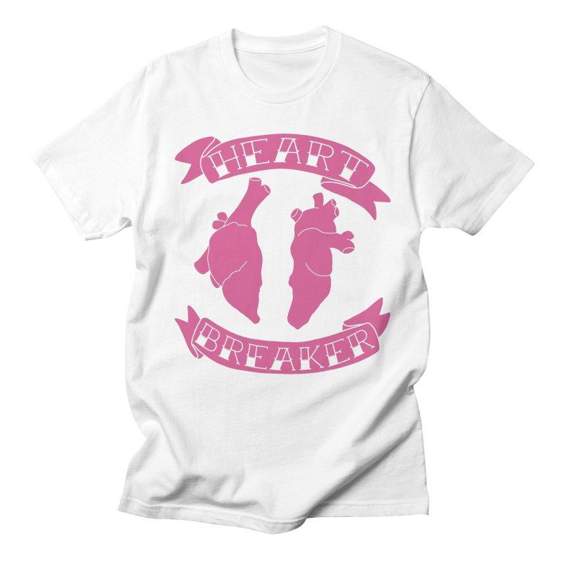 Heart Breaker Women's Regular Unisex T-Shirt by Hello Siyi