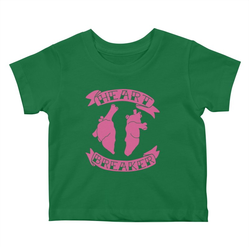 Heart Breaker Kids Baby T-Shirt by Hello Siyi