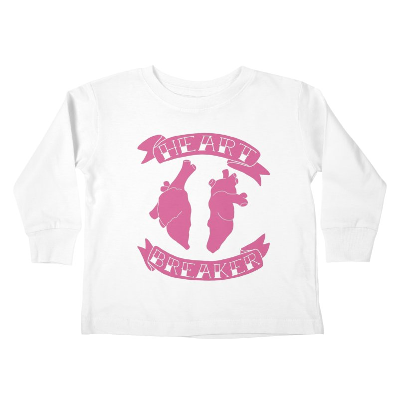 Heart Breaker Kids Toddler Longsleeve T-Shirt by Hello Siyi