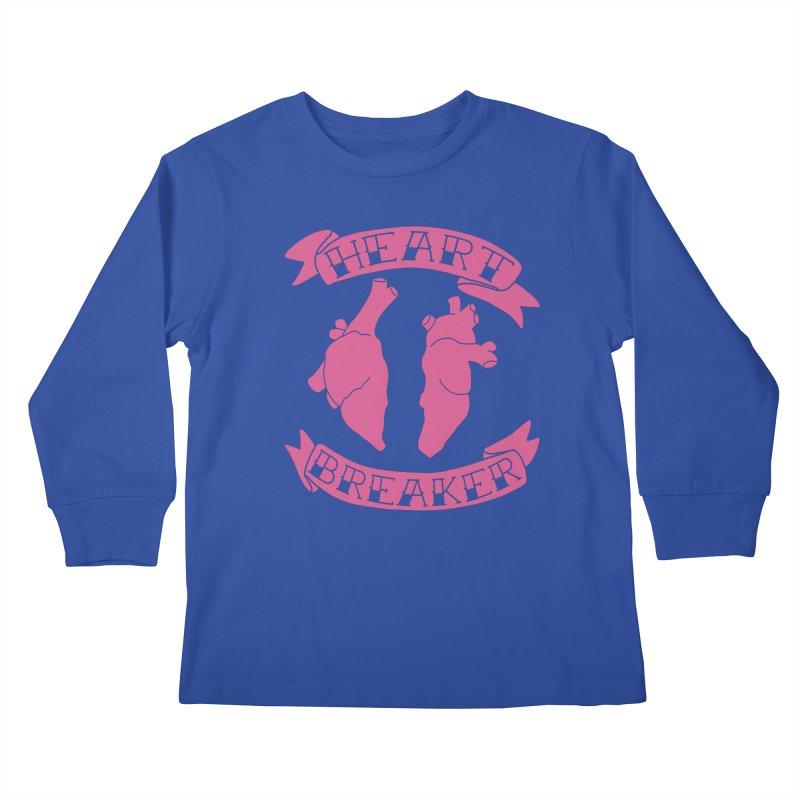 Heart Breaker Kids Longsleeve T-Shirt by Hello Siyi