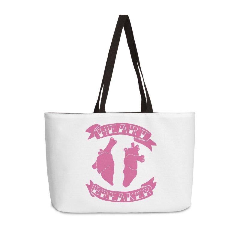 Heart Breaker Accessories Weekender Bag Bag by Hello Siyi