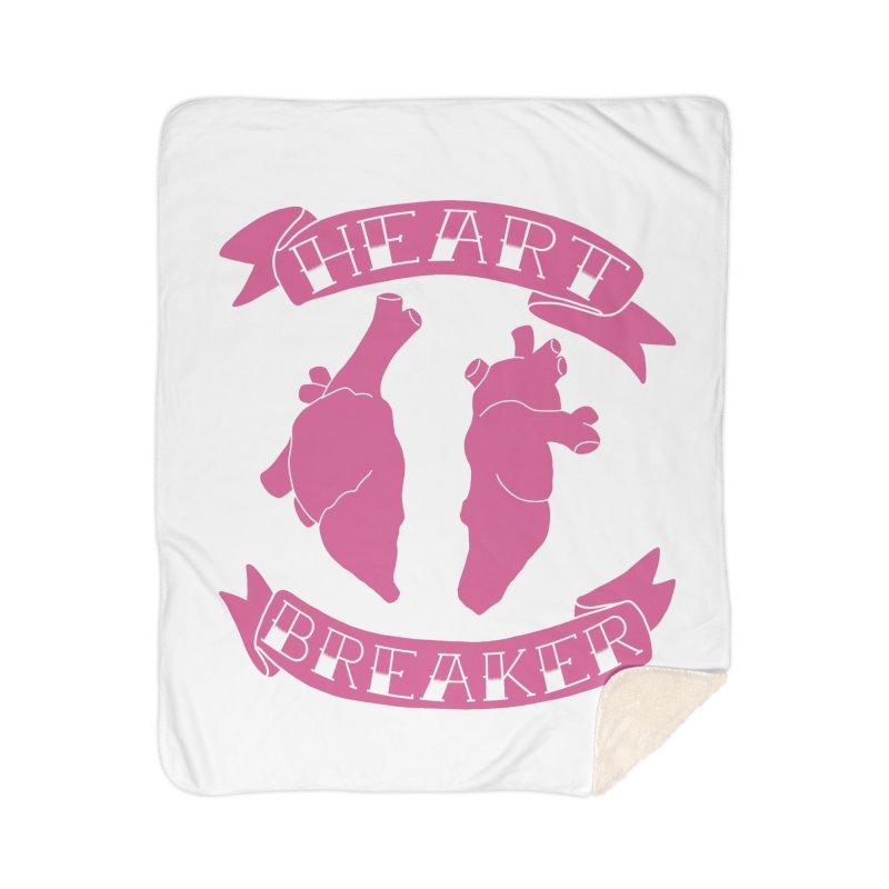 Heart Breaker Home Sherpa Blanket Blanket by Hello Siyi