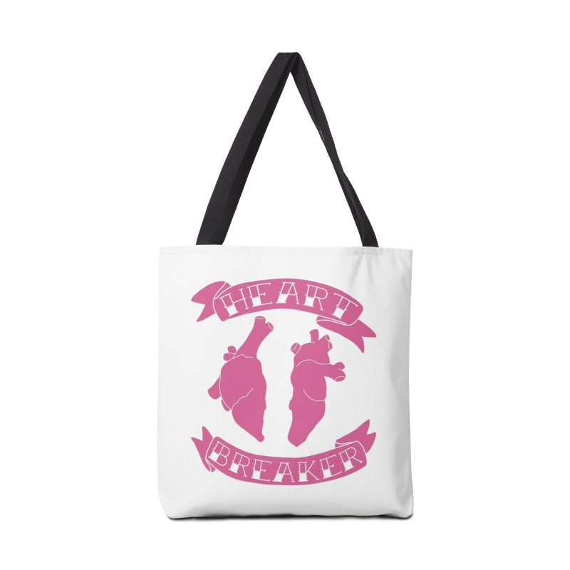 Heart Breaker Accessories Tote Bag Bag by Hello Siyi