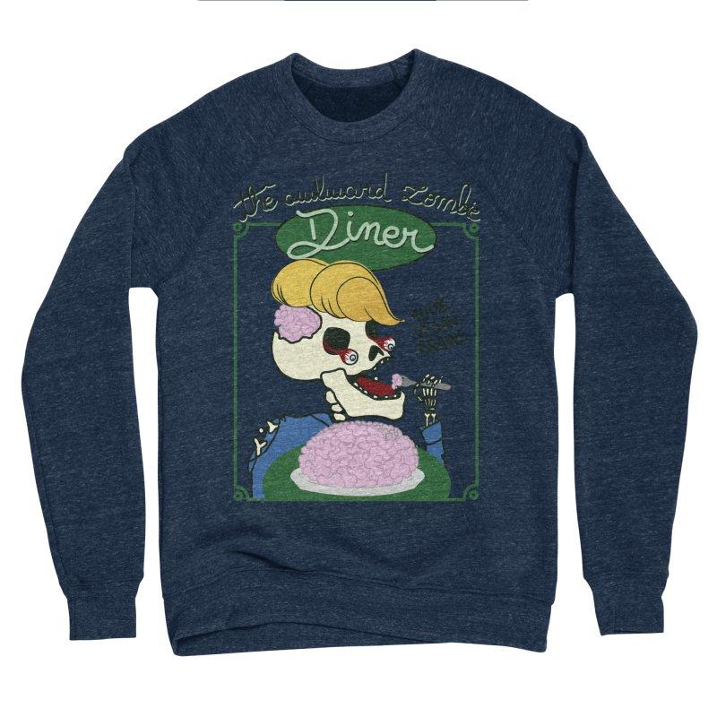 The Awkward Zombie Diner Women's Sponge Fleece Sweatshirt by Hello Siyi