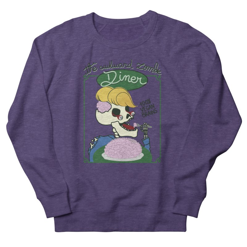 The Awkward Zombie Diner Women's Sweatshirt by Hello Siyi