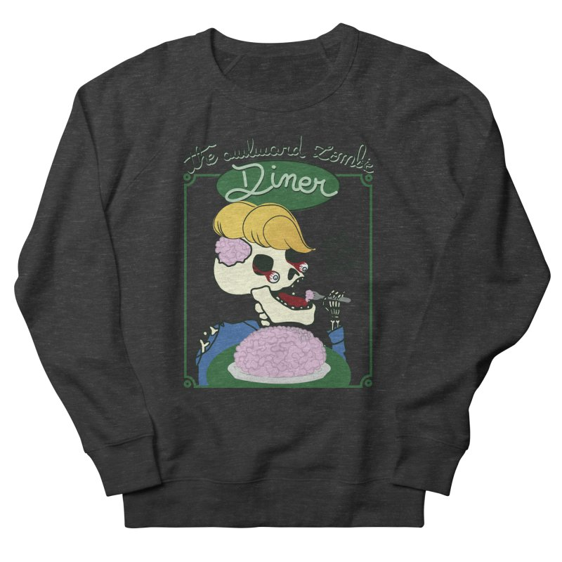 The Awkward Zombie Diner Women's French Terry Sweatshirt by Hello Siyi