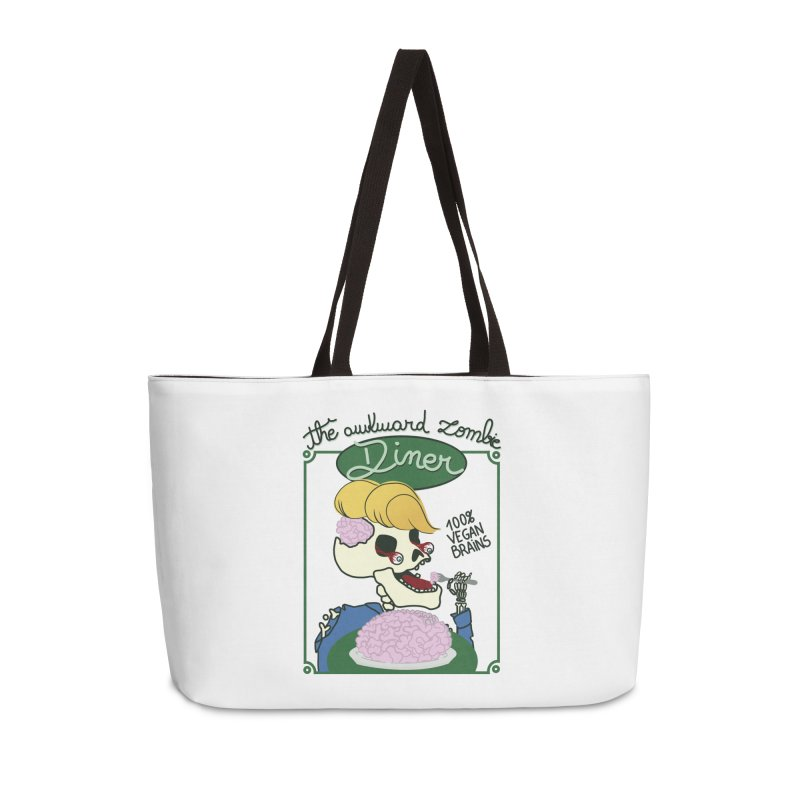 The Awkward Zombie Diner Accessories Weekender Bag Bag by Hello Siyi