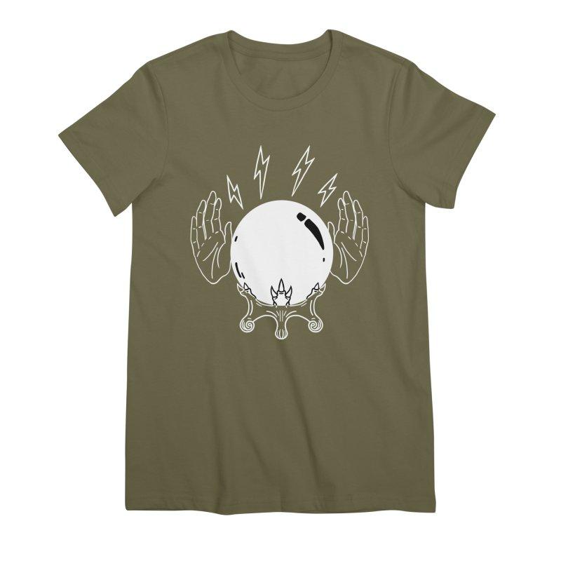 Crystal Ball Women's Premium T-Shirt by Hello Siyi