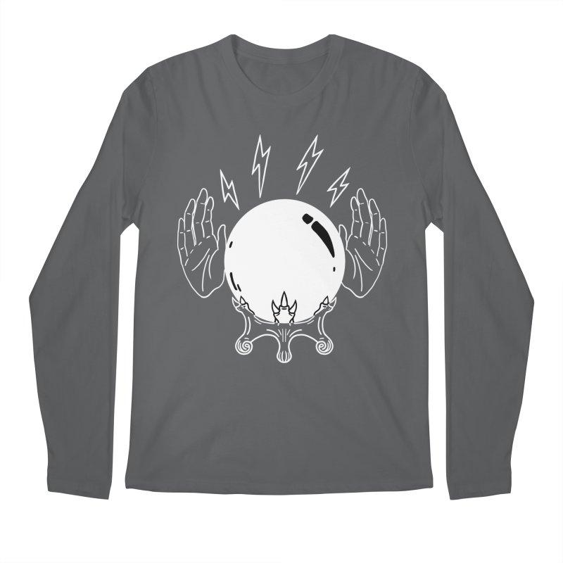 Crystal Ball Men's Longsleeve T-Shirt by Hello Siyi