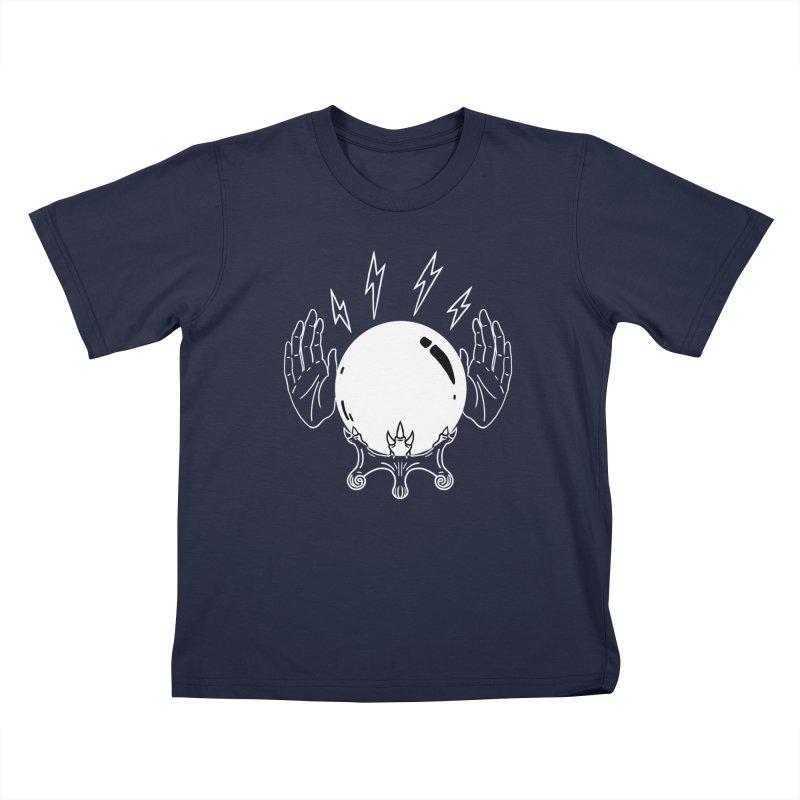 Crystal Ball Kids T-Shirt by Hello Siyi