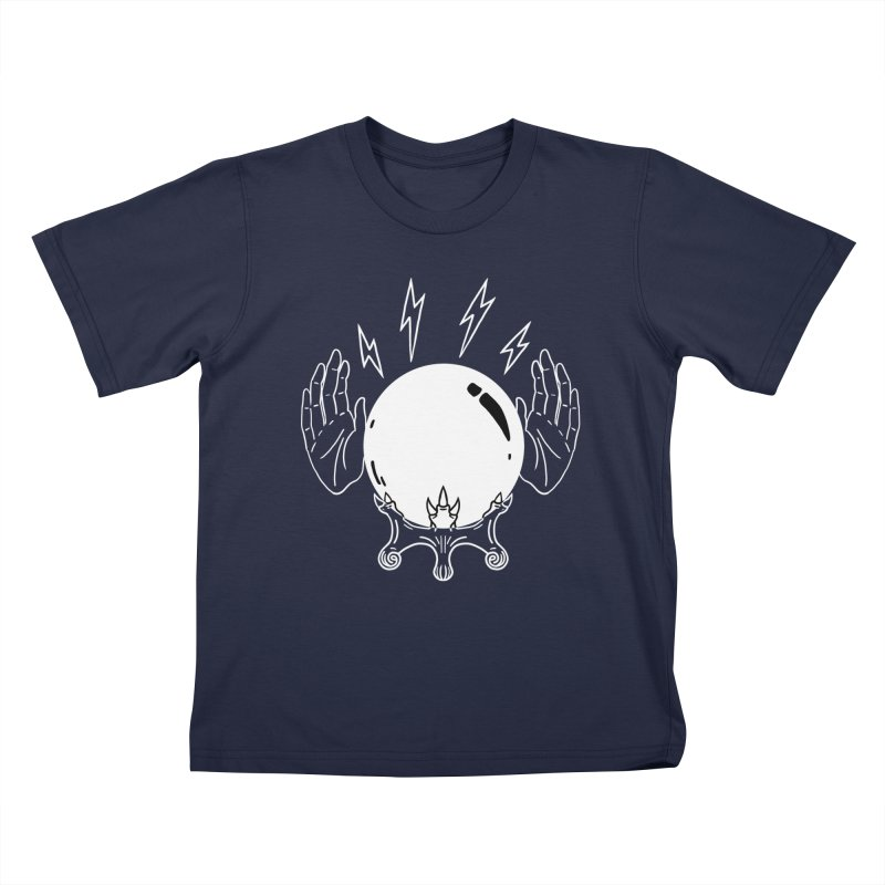 Crystal Ball Kids T-Shirt by Hello Siyi