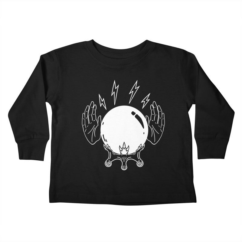 Crystal Ball Kids Toddler Longsleeve T-Shirt by Hello Siyi