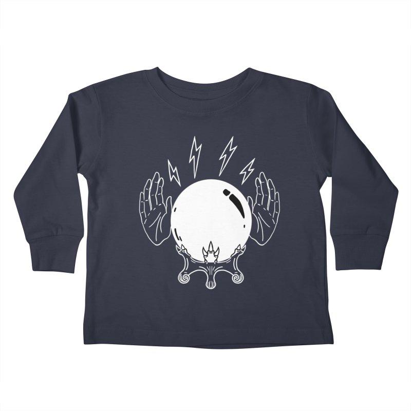 Crystal Ball Kids Toddler Longsleeve T-Shirt by Hello Siyi
