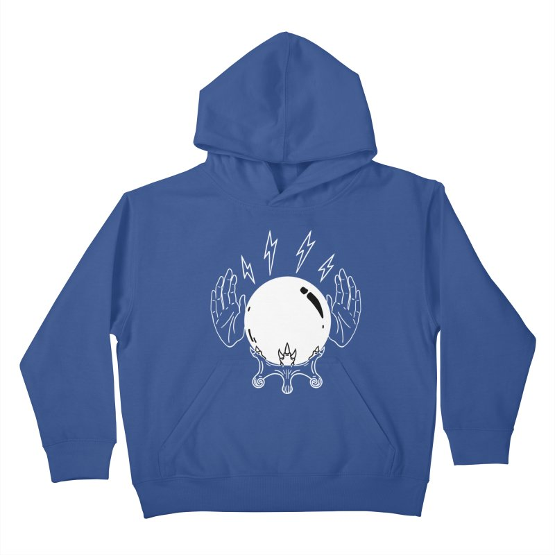 Crystal Ball Kids Pullover Hoody by Hello Siyi