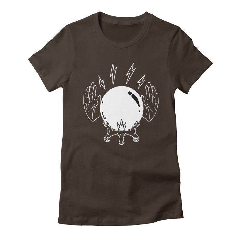 Crystal Ball Women's Fitted T-Shirt by Hello Siyi