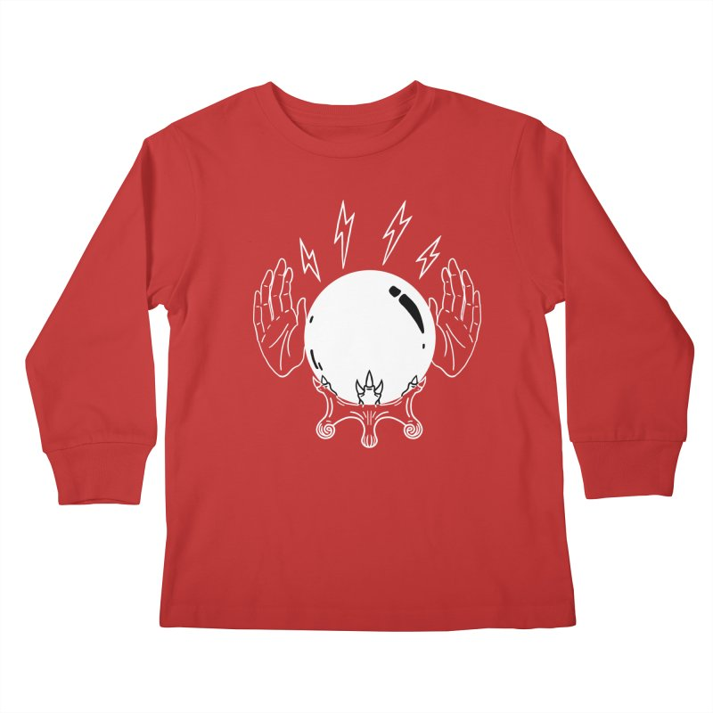 Crystal Ball Kids Longsleeve T-Shirt by Hello Siyi