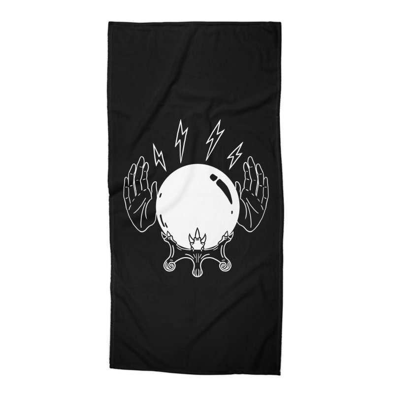 Crystal Ball Accessories Beach Towel by Hello Siyi