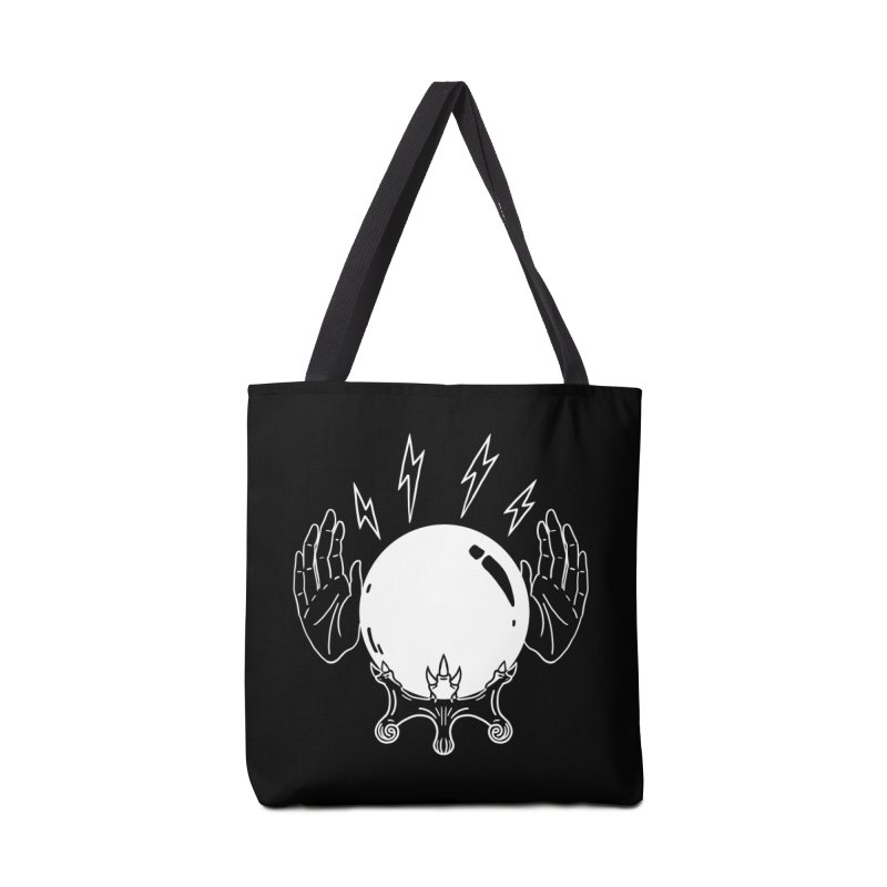 Crystal Ball Accessories Tote Bag Bag by Hello Siyi