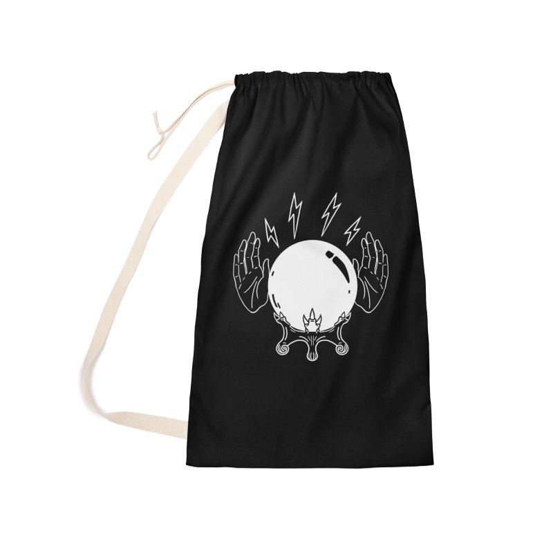Crystal Ball Accessories Laundry Bag Bag by Hello Siyi
