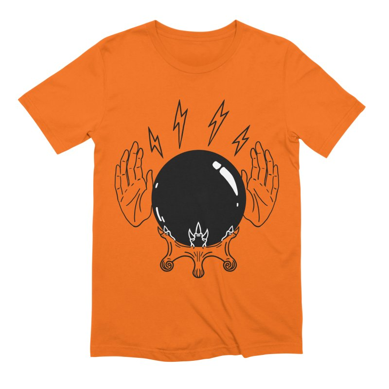 Crystal Ball (on white) Men's Extra Soft T-Shirt by Hello Siyi