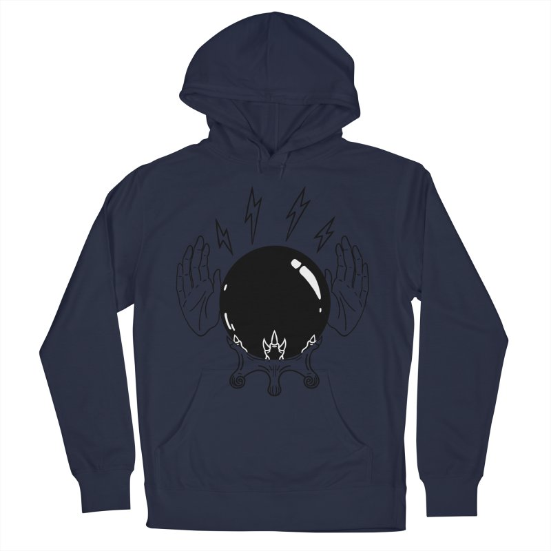 Crystal Ball (on white) Men's Pullover Hoody by Hello Siyi