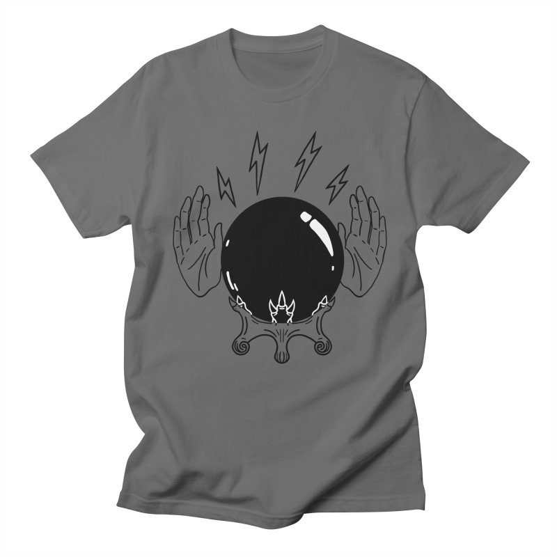 Crystal Ball (on white) Men's T-Shirt by Hello Siyi