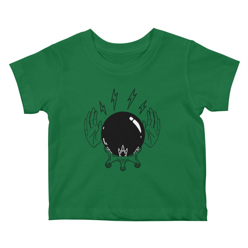 Crystal Ball (on white) Kids Baby T-Shirt by Hello Siyi