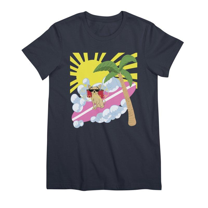 Chihuahua Summer Women's Premium T-Shirt by Hello Siyi