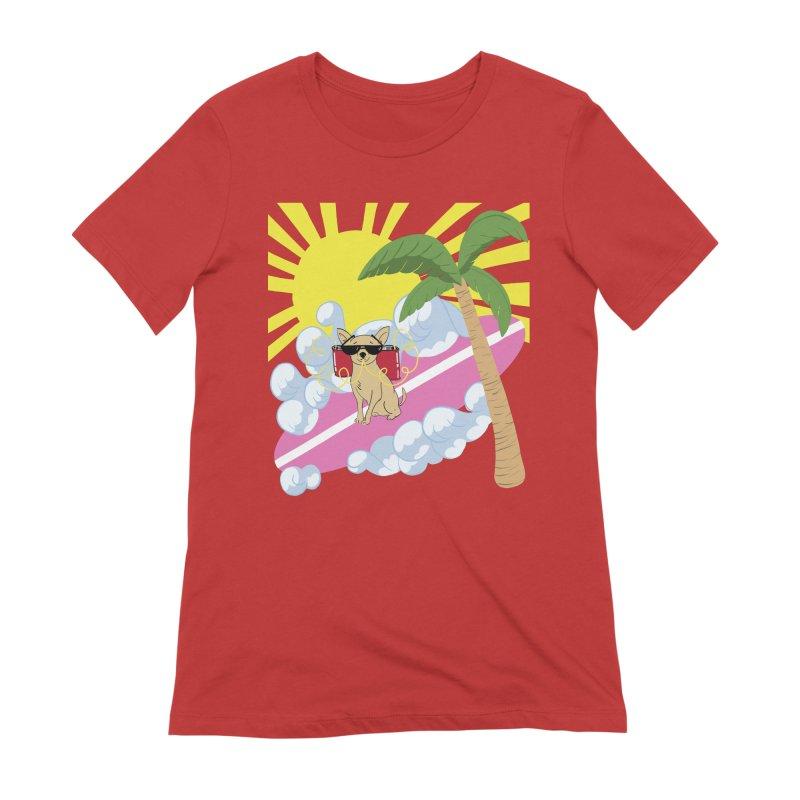 Chihuahua Summer Women's Extra Soft T-Shirt by Hello Siyi