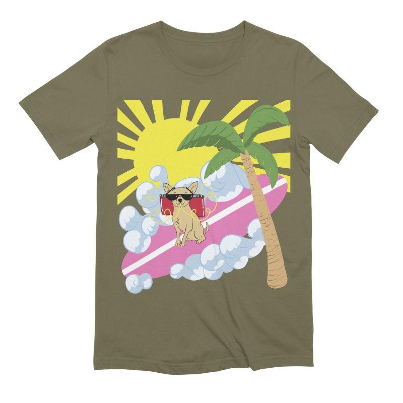 Chihuahua Summer Men's Extra Soft T-Shirt by Hello Siyi