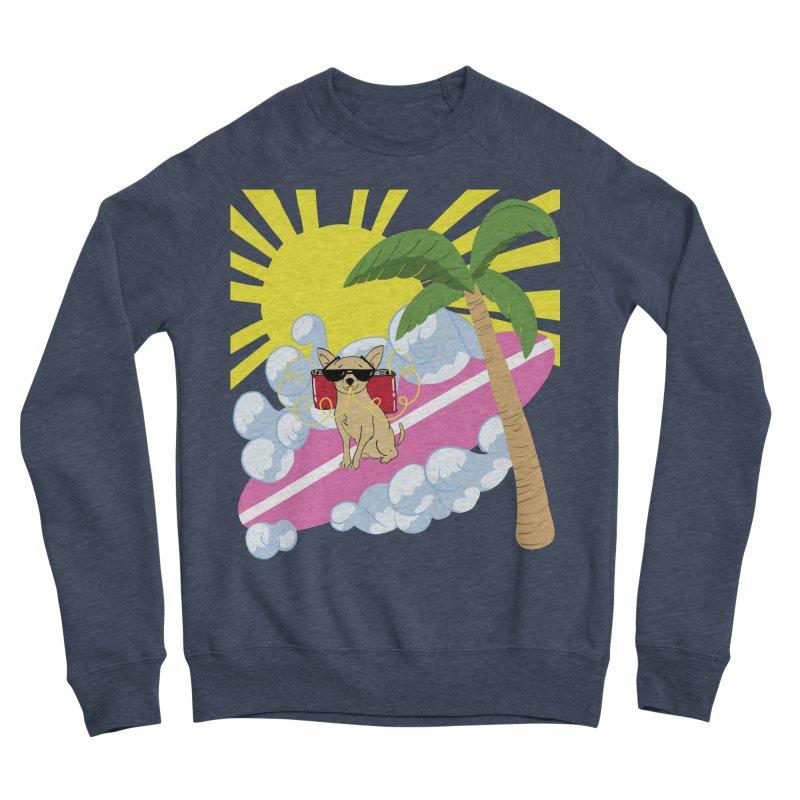 Chihuahua Summer Women's Sponge Fleece Sweatshirt by Hello Siyi