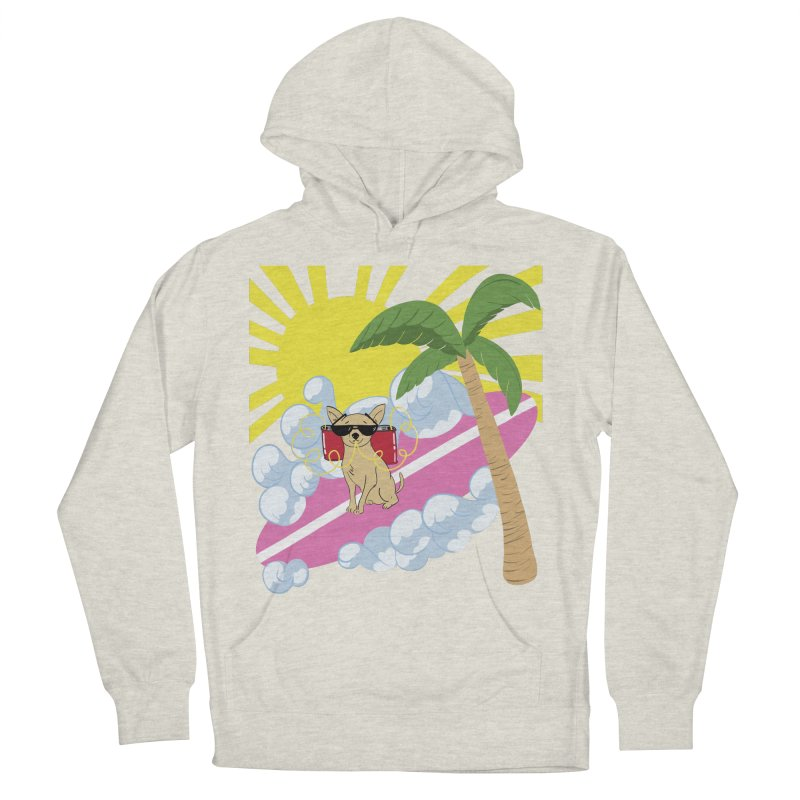 Chihuahua Summer Women's French Terry Pullover Hoody by Hello Siyi