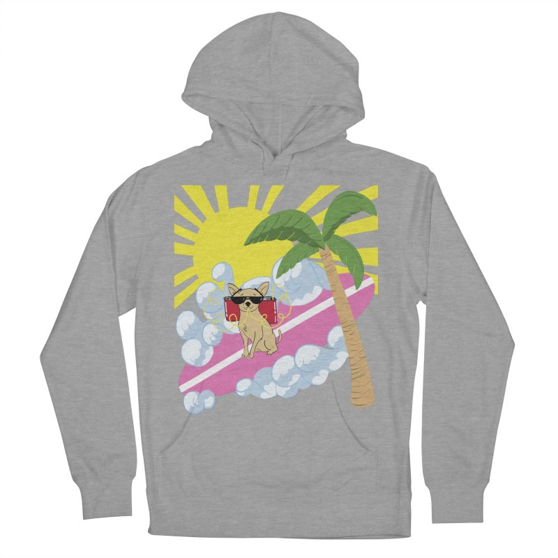 Chihuahua Summer Men's French Terry Pullover Hoody by Hello Siyi