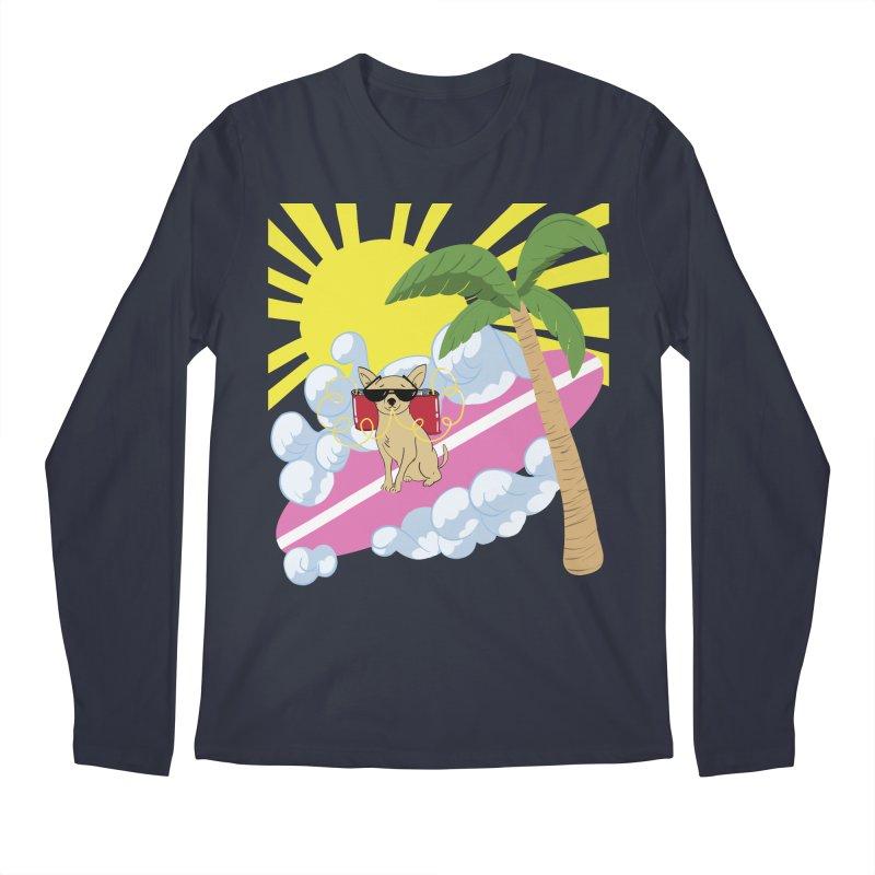 Chihuahua Summer Men's Regular Longsleeve T-Shirt by Hello Siyi
